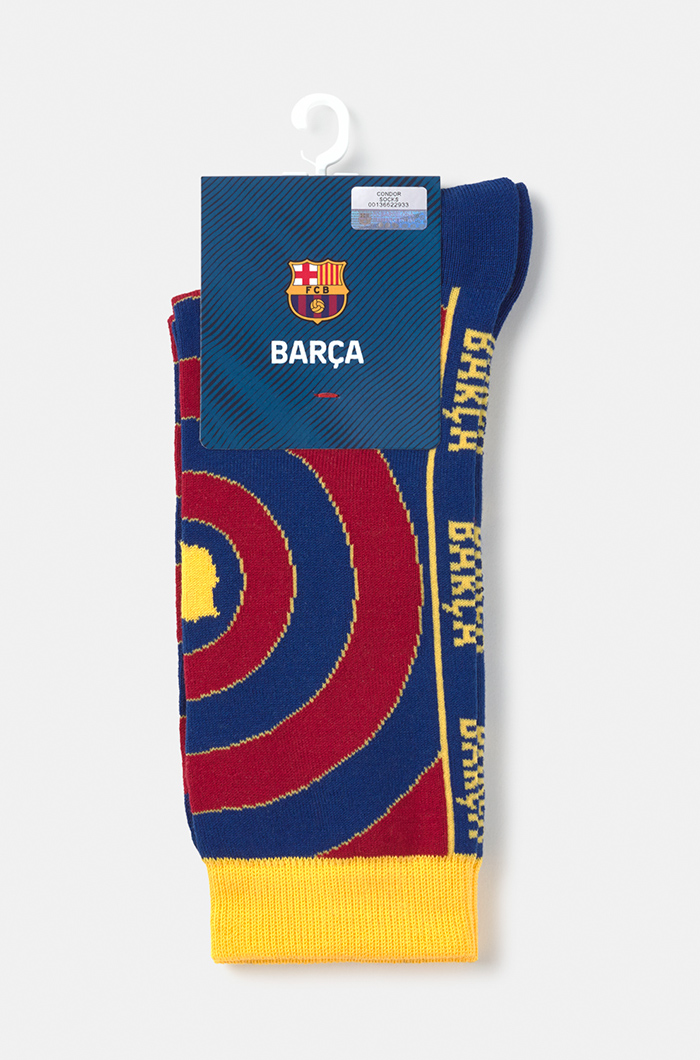 Fc Barcelona Flag And Crest Socks Accessories Men Fashion Categories Barca Store