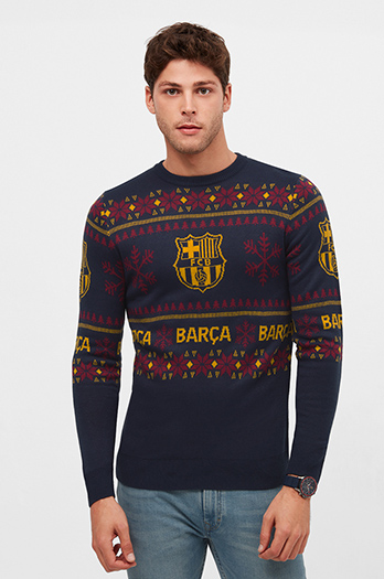 Christmas jumper – Blue