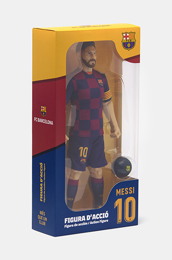 Messi number 10 action figure - Home Kit