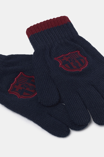 FC Barcelona Gloves - Junior