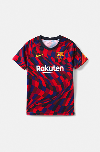 20/21 FC Barcelona La Liga pre-match shirt - Junior