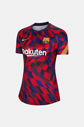 20/21 FC Barcelona La Liga pre-match shirt - Woman