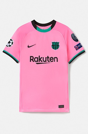 UEFA CL camiseta EXCLUSIVA Third 20/21 para mujer