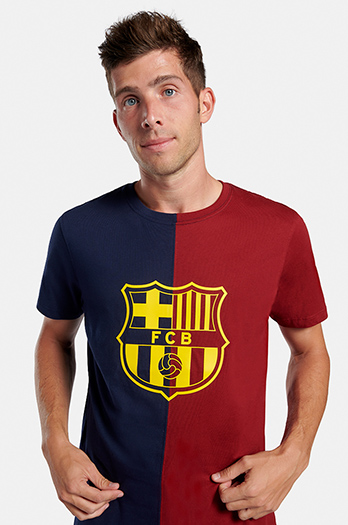 FC Barcelona bi-colour T-shirt