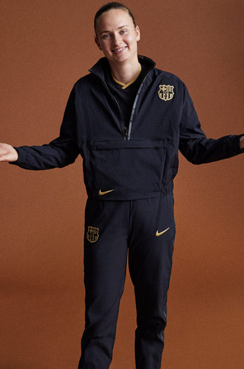 20/21 FC Barcelona jacket - Women