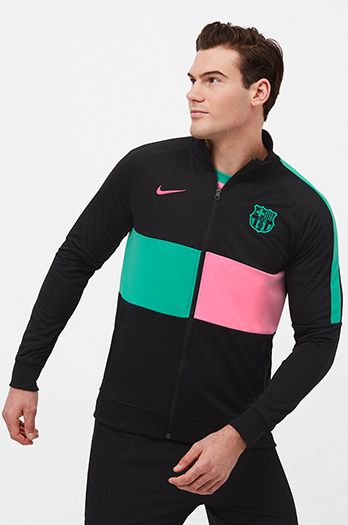 Sweat-shirt à fermeture zippée FC Barcelone